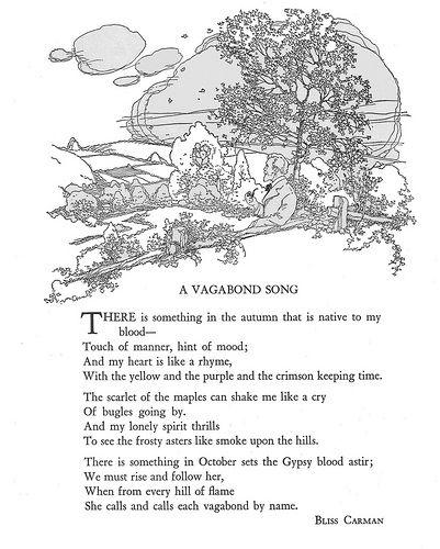 #autumn #poem #carman A Vagabond Song