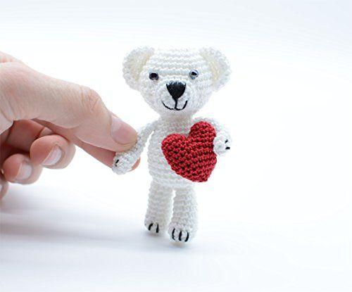 Polar Bear, Birthday gift, crochet small animal, miniatur... https://www.amazon.co.uk/dp/B01N9P1ZBN/ref=cm_sw_r_pi_dp_x_MFdBAbKHTYZXR