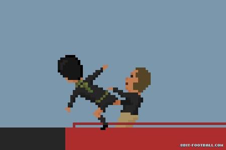 Cantona's Kung-Fu Kick by 8bit