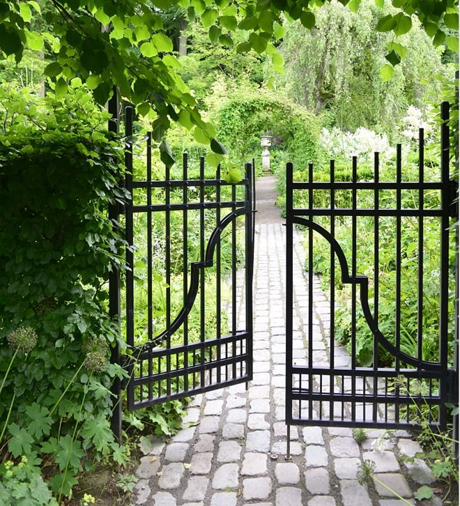 Wrought Iron Gates And Steel Barriers: 25+ Best Ideas About Wrought Iron Gates On Pinterest