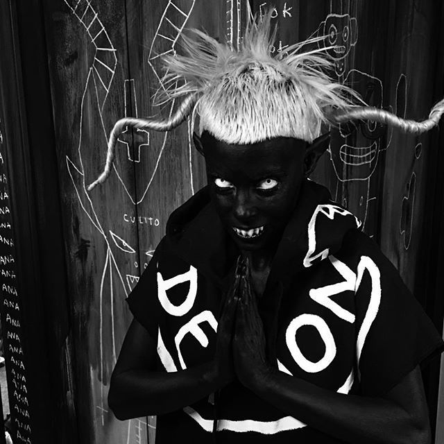 ✨!fun competition!✨ whoever makes the coolest album cover for our new album gets to be the one who made the cover for our new album  cover image should be a square and needs to include text thats says:  DIE ANTWOORD  Come to The Darkside WE HAVE CANDY! (exclamation mark optional)  post your WE HAVE CANDY album cover on your own instagram page and tag #WeHaveCandy @dieantwoord @prawn_star @zef_alien @djmuggs_the_black_goat_ @djhitekisgod  you have 1 week!  and... go!