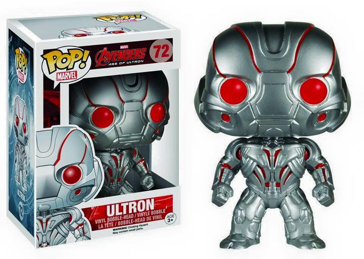 A new lineup of Funko POP! Avengers is coming in February with Ultron!