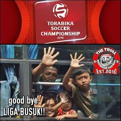 Good bye LIGA BUSUK!!!!!! #TIMNASJUARA #ForzaTimnas #MafiaPssi #PSSI #DagelanPSSI#supporter #indonesiafirm #revolupssi #mafia #fifa #indonesia #pssi #timnas #garuda #mania #hooligans #ultras #TimnasDay #ForzaIndonesia #IndonesiaBisa  #TPK