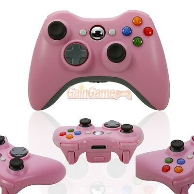 Pink Wireless Game Remote Controller for Microsoft Xbox360 Console Free Shipping Was: $33.32 Now: $19.99.