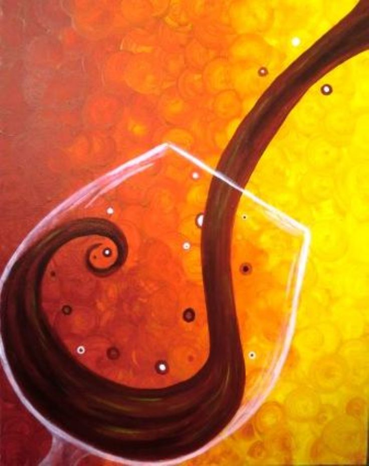 17 best images about wine and cocktail paintings on for Easy wine bottle painting ideas