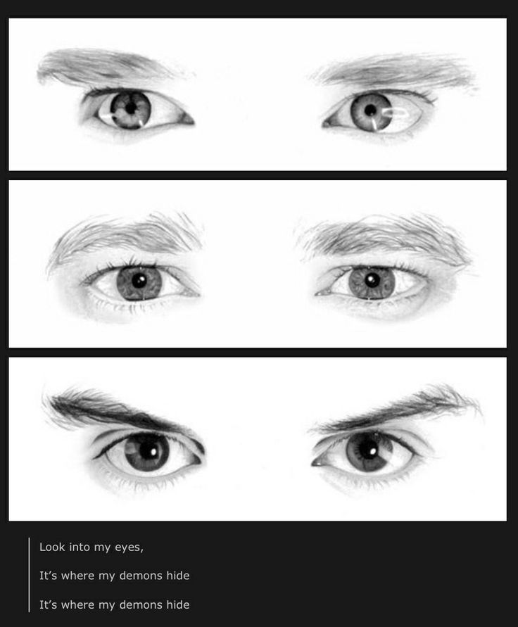 What's sad is that it's insanely easy to identify them just by their eyes.  That's when you know this fandom has spent FAR too long staring at pictures of them!