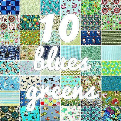 blues/greens