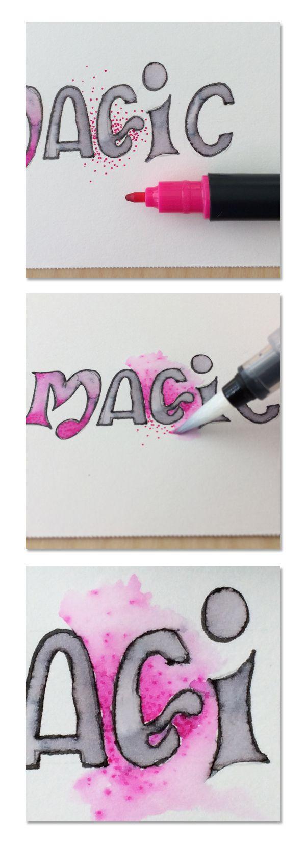 Best water brush ideas on pinterest pen