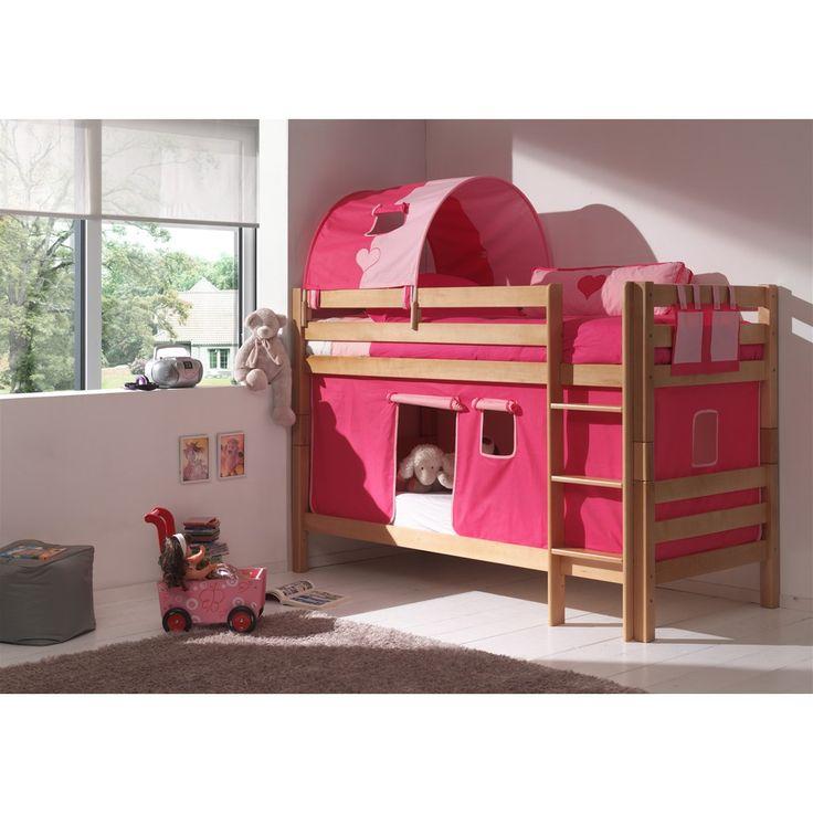 lit superpos beni rose. Black Bedroom Furniture Sets. Home Design Ideas