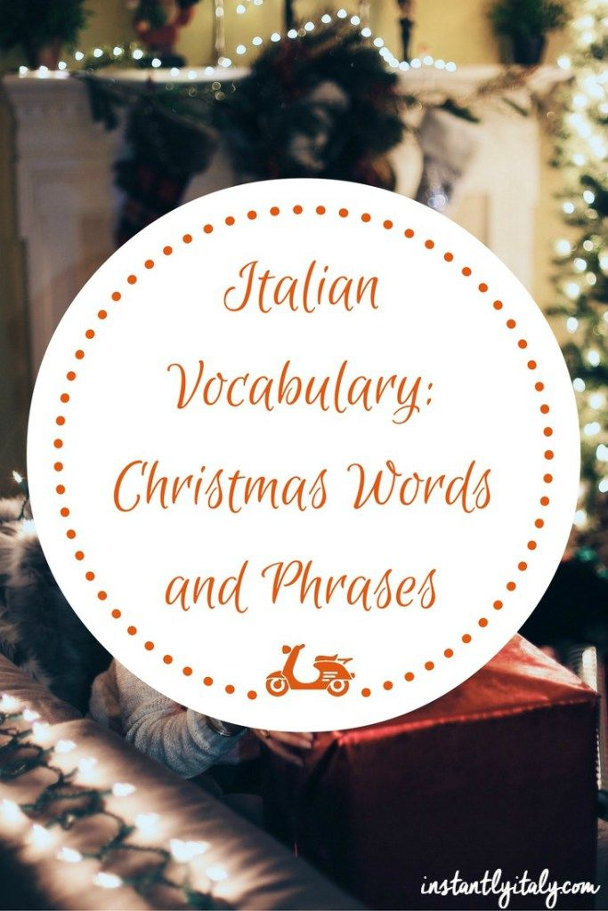 If you are looking for a complete Italian Christmas vocabulary, in this post you can find all the most important words and phrases to be used at Christmas. And loads of Italian Christmas traditions too.