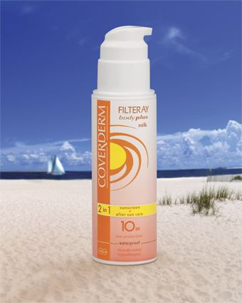 Coverderm Filteray Body Plus Milk SPF10/20/30/50+