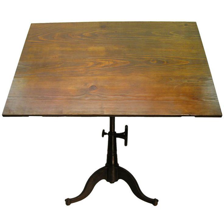 Drafting table art studio pinterest