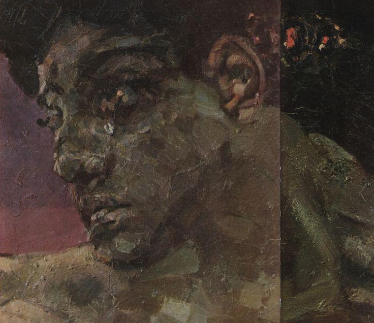 denisforkas:  Михаил Врубель - Демон сидящий (фрагмент). 1890