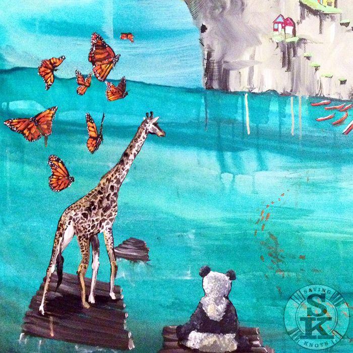 Brina Schenk - Attraction Painting - acrylic