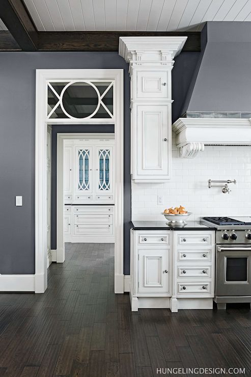Benjamin Moore Stormy Sky Wall Color Hungeling Design Pick A Paint Color Pinterest Dark