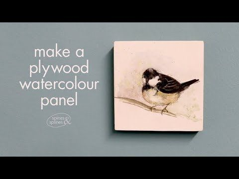 Diy Recipe For Watercolour Ground So You Can Turn Scrap Wood Or