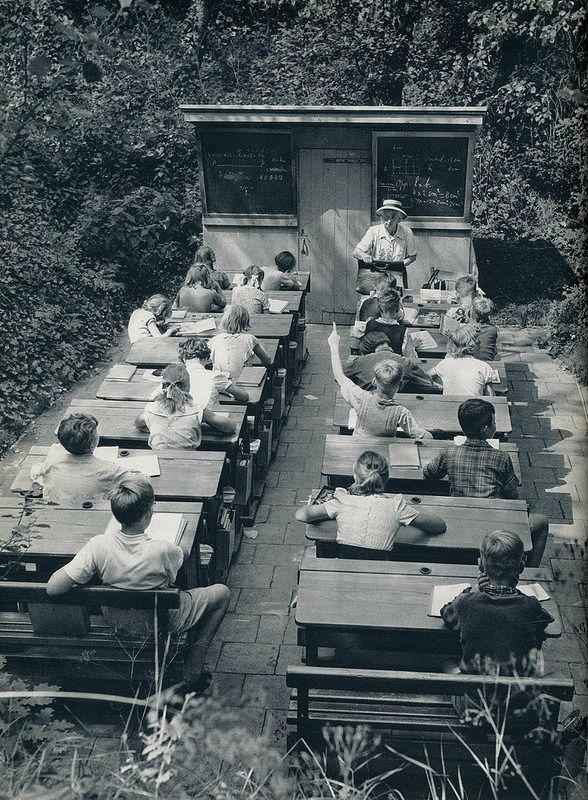 Den Haag scheveningse buitenschool 1957
