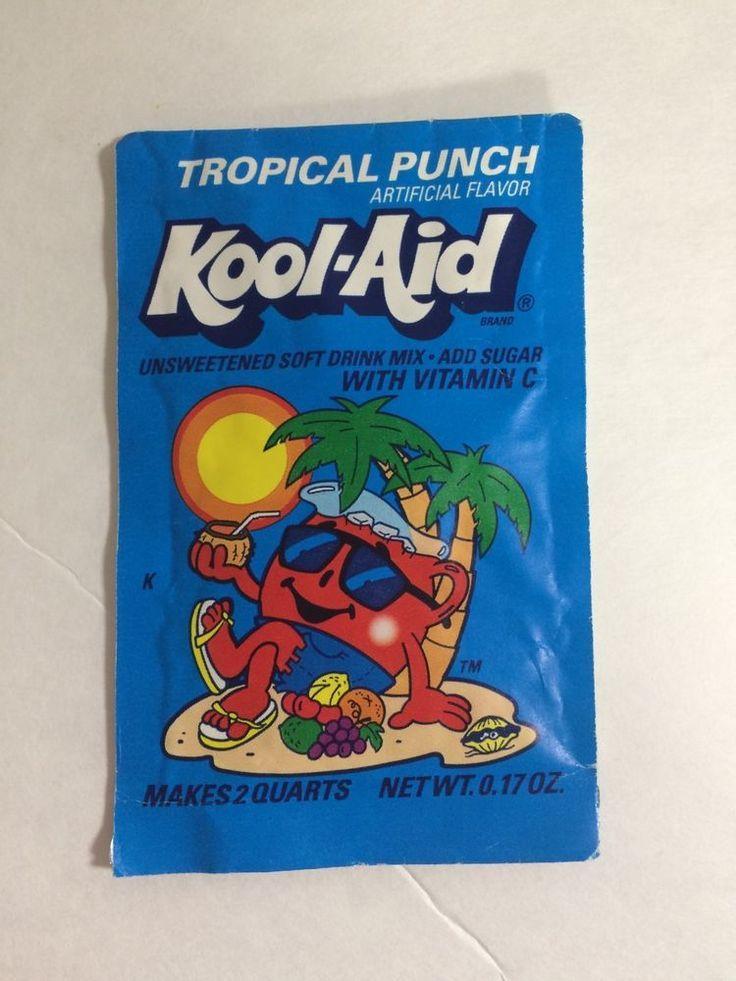 Kool Aid Tropical Punch Tropical Food