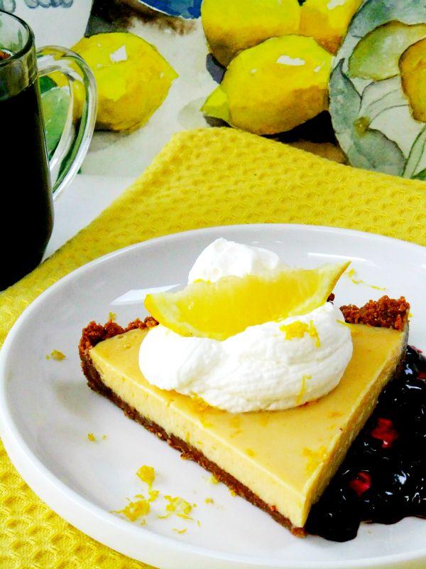 limoncello tart