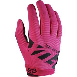 hot pink womens mountain biking Fox Racing Ripley Gel Glove - superrrrr comfy