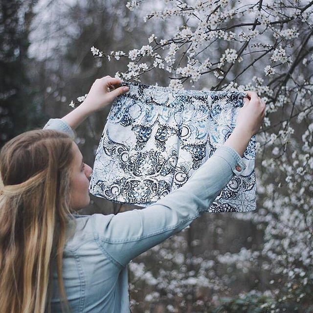Spring is in the air! (Photo by @breathsouls) #oddmolly #madeinlove #seemedanceshorts
