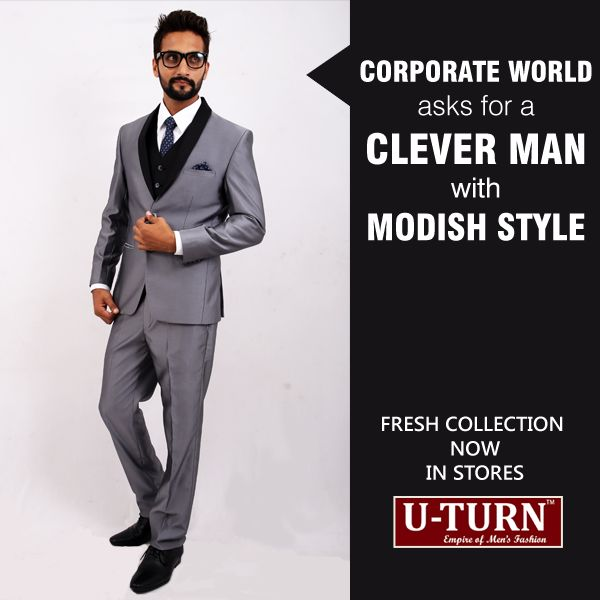With your smart attitude and a classy suit, there's no way a client can have issues with you.