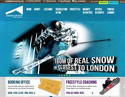 Yet another pitch win, to design the new website for The Snow Centre! Their new responsive website works hard as a desktop website and for iPhones and iPads too. We also threw in a load of cutting edge goodies and social media integration.