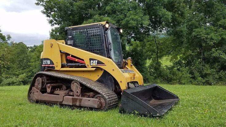 2006 Caterpillar 277B Compact Track Skid Steer Loader Cat Diesel Hydro Machinery