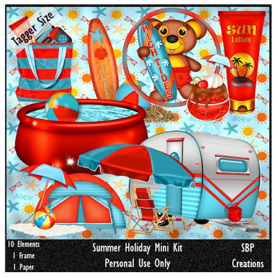 SBP Creations: Summer Holiday Mini Kit