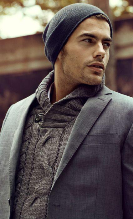 .: Men Clothing, Winter Looks, Men Style, Men Outfits, Men Fashion, Style Men, Men Fall, Knits Sweaters, Fall Winter
