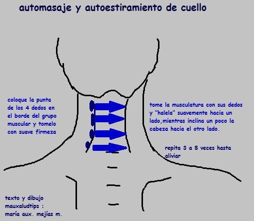 Automasaje: Dolor Cabeza Y Cuello                                                                                                                                                     Más