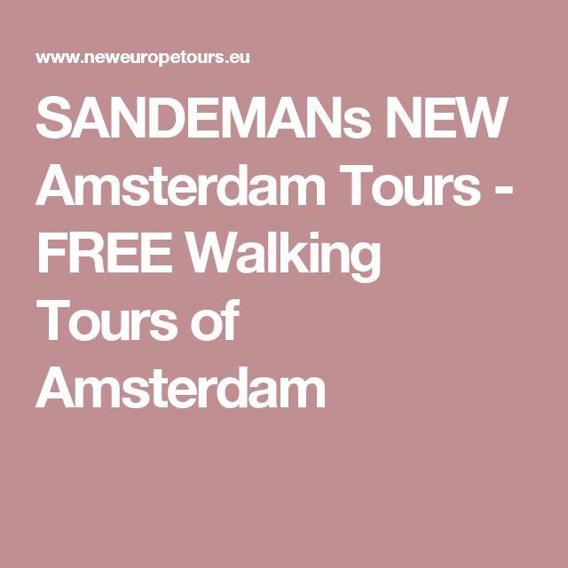 SANDEMANs NEW Amsterdam Tours - FREE Walking Tours of Amsterdam