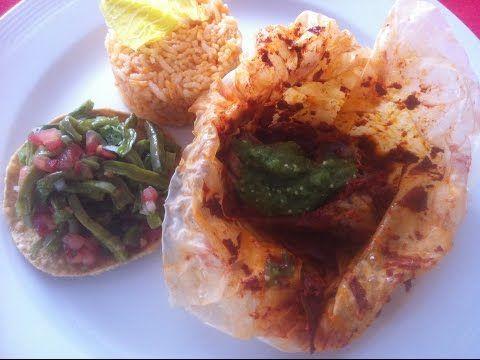 MIXIOTES DE CARNERO Cocina mexicana Chef Vargas México - YouTube