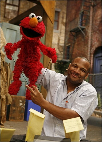 kevin clash aka elmo what a talent, to know him is to love him