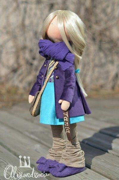 The leg warmers - Handmade Doll