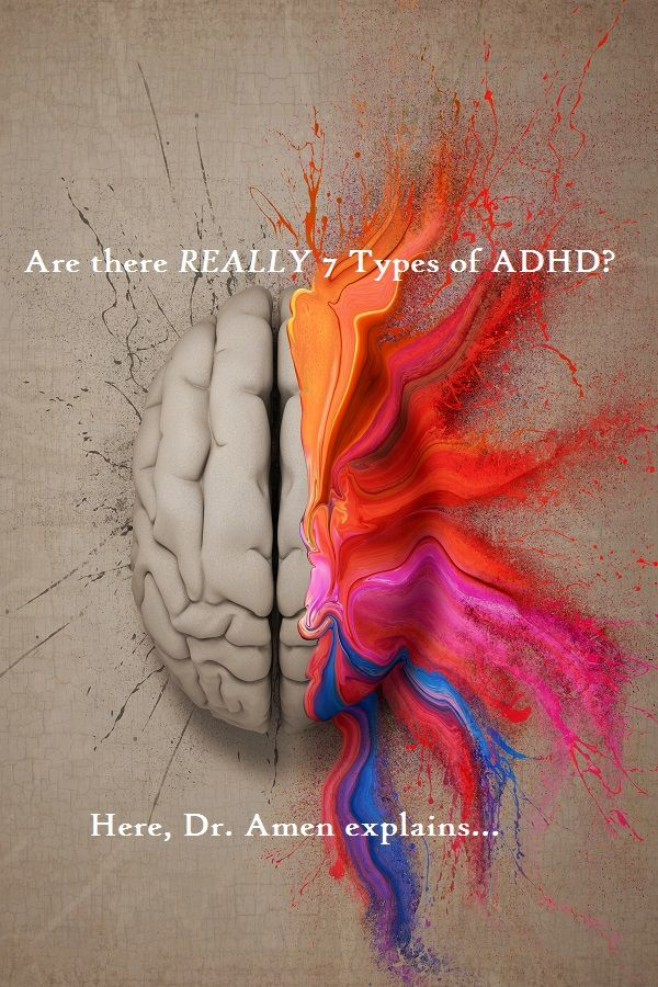 7 Types of ADD: The Science of Brain Scans from Dr. Amen