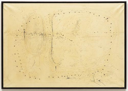 Lucio Fontana. Spatial Concept. 1957