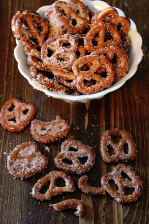 Cinnamon Sugar Pretzels Recipe                                                                                                                                                     More