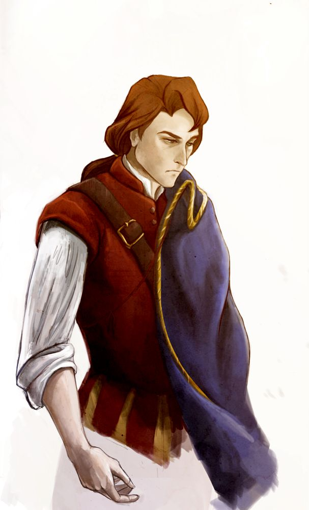 """John Rolfe by Virnavus.deviantart.com on @deviantART - Okay...crazy, random Disney confession time: when I was a kid, John Rolfe from """"Pocahontas II"""" was actually my favourite Disney guy. I don't know about the actual historical figure, but in the context of the film, I saw him as someone who was flawed, but honest - even in London's court intrigue, which couldn't have been easy. Also, seeing Pocahontas end up with him didn't ruin my childhood - by the time I saw the movie, I knew the…"""