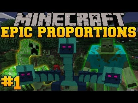 http://minecraftstream.com/minecraft-episodes/minecraft-epic-proportions-pirate-ship-episode-1-s2-modded-survival/ - Minecraft: Epic Proportions - Pirate Ship! - Episode 1 (S2 Modded Survival)  Enjoy the video?  Help me out and share it with your friends! Like my Facebook! http://www.facebook.com/pages/PopularMMOs/327498010669475 Mod List! Twilight Forest – Dimension Mod Eternal Frost – DImension Mod Dungeon Mobs – Mobs Infernal Mobs – Mobs Mutant Cre