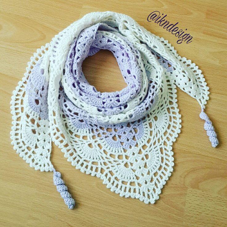 #ikndesigncrochet #crochet #şal #crochetshawl #orgusal #örgüterapim #handmade #hediyealternatifi #yeniyilhediyesi #shawl #wickeln #women #lila #crochetastherapy #sweet #soft #pattern #crochetaddict #yarnaddict #ilovecrochet #ganchillo #örgü #craft #knit #häkeln #virka #style  #satilik