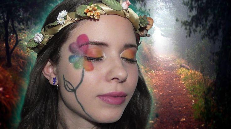 Trucco Carnevale: Fata dei Fiori Makeup Tutorial (coll.KettyCentos&Co) |...