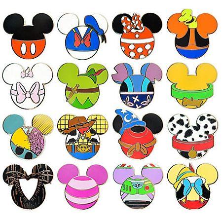 Disney Mystery Pin Set - Mickey Mouse Icon
