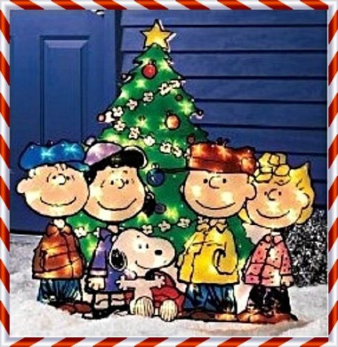 peanuts characters outdoor christmas decorations - Rainforest - peanuts outdoor christmas decorations