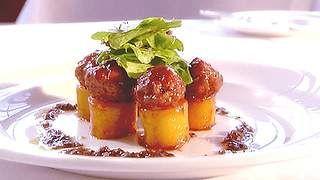 Braised potatoes with Maltese sausage recipe : SBS Food