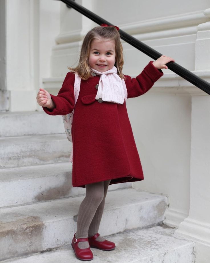 See all the pictures of Princess Charlotte's first day of nursery – Princess Charlotte's nursery school