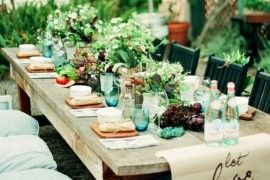 Green and Gorgeous Garden-Inspired Table Settings