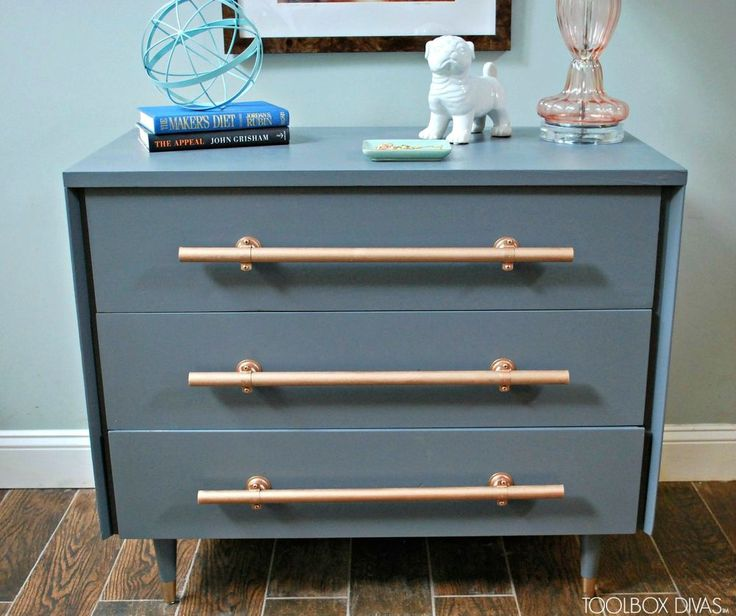 20+ Amazing Furniture Hardware Ideas And Inspirations Idea Box By Courtney  @ All Things New Again. Diy DrawersHandmade DrawersMid Century ...