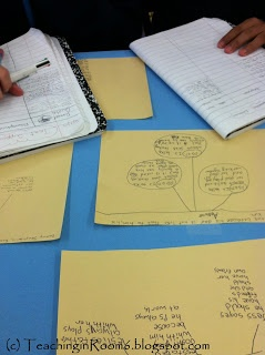 "Great activity to get students to dig into the text to ""show me the evidence."""