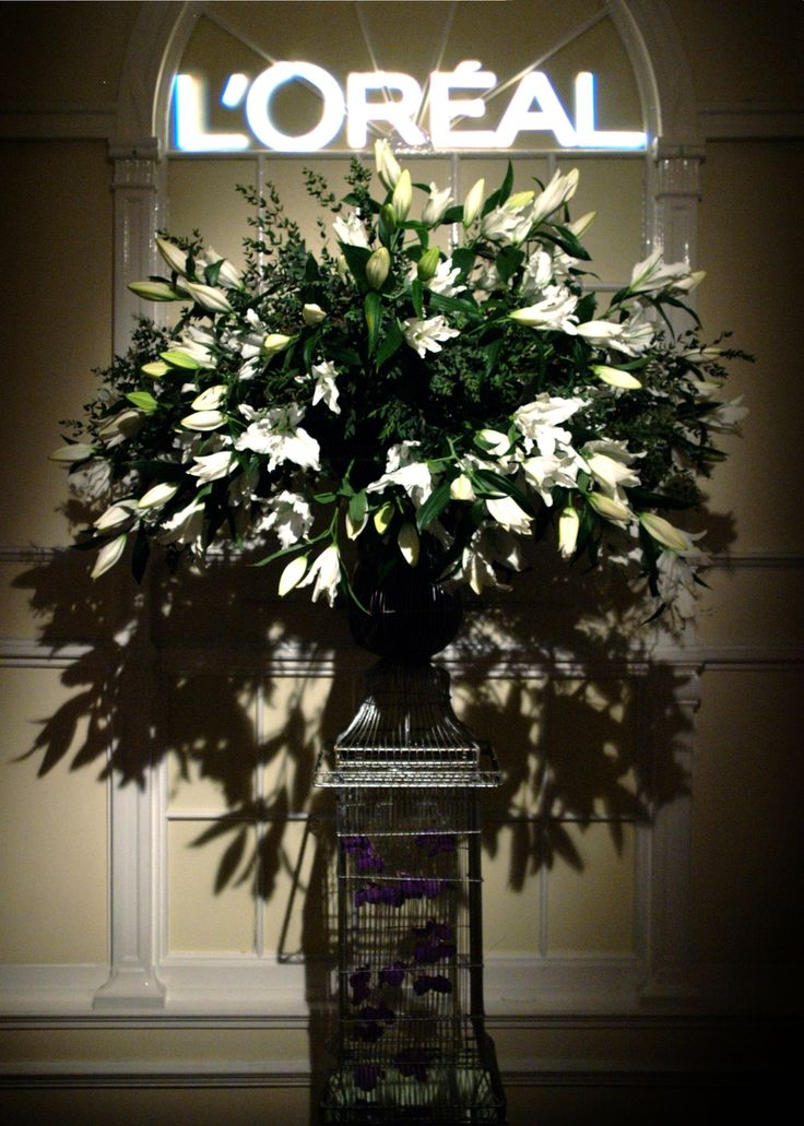 L'oreal event at Il Bottaccio. Flowers by Rebel Rebel Florist. www.rebelrebel.co.uk